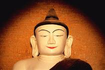 Head of Buddha statue in Burma (Myanmar) von ingojez