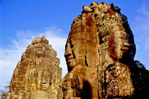 Bayon Temple at Angkor Wat Complex by ingojez