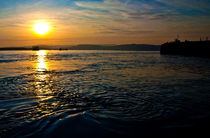 Sunset over Exmouth  by Rob Hawkins