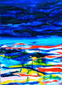 landscape under water von Doreen Schmidt