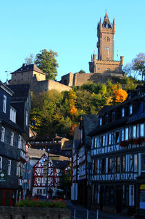 Dillenburg historische Altstadt mit Wilhelmsturm von mellieha