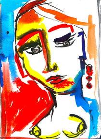 erotic woman by Doreen Schmidt