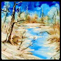 Winter von Eva Borowski