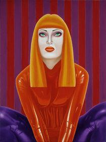 The dancer. 60?80 canvas, oil. by Vasiliy Zherebilo