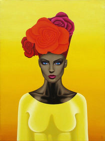 In hot day. 80-60 cm. canvas, oil. by Vasiliy Zherebilo