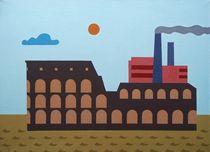 The floating Collosseo. 65-90 cm. canvas, oil by Vasiliy Zherebilo