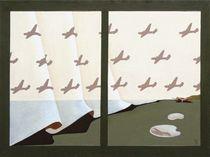 The magic carpet-2. 60-80 cm. canvas, oil. by Vasiliy Zherebilo
