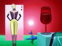 Take yes drink-2.60-80 cm. canvas, oil. by Vasiliy Zherebilo