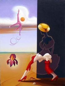 The black-skinned. 80-60 cm. canvas, oil. by Vasiliy Zherebilo