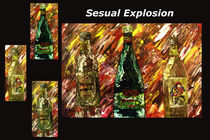 Sensual Explosion Collage 1 by Mark Moore