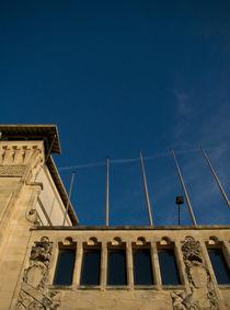 Gare du Midi with a gorgeous sky von Maria Fidalgo