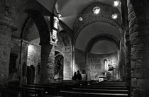 Church of the Assumption of Mary in Bossos - BW by RicardMN Photography