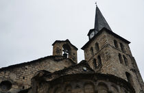 Church of the Assumption of Mary in Bossost - Abse and tower von RicardMN Photography