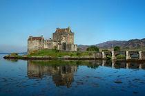 Eilean Donan Castle - Scotland by Gillian Sweeney