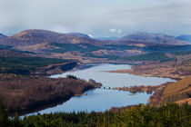 Loch Garry - Scotland by Gillian Sweeney