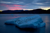 Iceberg Sunset - Greenland by Gillian Sweeney