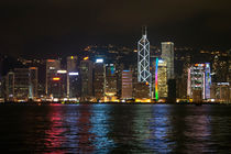 Hong Kong Island skyline by Gillian Sweeney