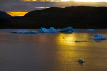 Frozen Sunset - Greenland by Gillian Sweeney