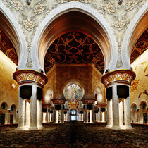 Sheik Zayed Grand Mosque II by Giulio Asso