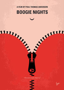 No167 My Boogie Nights minimal movie poster von chungkong