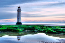 Perch Rock Lighthouse, Wirral UK. by Pete Lawless