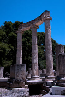 Ancient Olympia - Greece von Gillian Sweeney