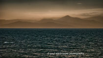 distant  mountains by Paul Wardropper