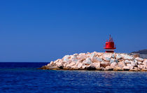 Harbour Entrance Kas Turkey by Pete Lawless