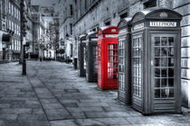 The Odd Red Telephone Box by Pete Lawless