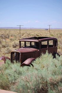 Abandoned in the Desert von Judy Hall-Folde