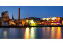 Alter Hafen Münster mit Strandbar (#2004) von Münster Foto