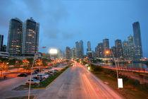 Panama City by Sunset by David Castillo Dominici