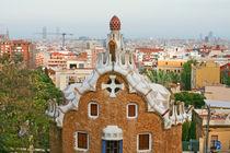 Park Guell in Barcelona, Spain.  by David Castillo Dominici