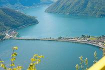Lugano lake in Switzerland   by David Castillo Dominici