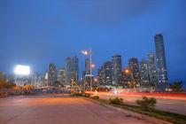 Panama City skyline, Panama.  by David Castillo Dominici