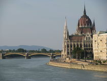 Budapest - panoramic view by Ema Veneva