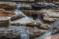 River Rock Waterfall by Michael Waters