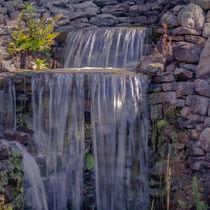 Rocky Waterfall von Michael Waters