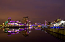 Salford Quays Manchester UK by Pete Lawless