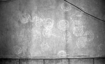 football imprint on the wall by huiwen chen