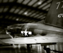 Plane in Hanger   by Jamie Starling