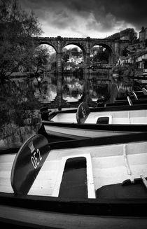 Knaresborough boats by Paul Davis
