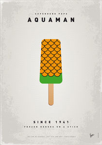 My SUPERHERO ICE POP - Aquaman by chungkong