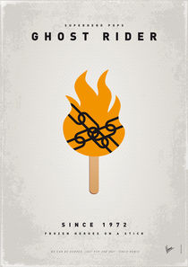 My SUPERHERO ICE POP - Ghost Rider by chungkong