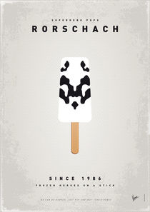 My SUPERHERO ICE POP - Rorschach by chungkong