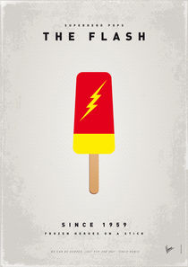 My SUPERHERO ICE POP - The Flash von chungkong