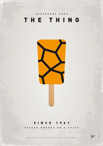 My SUPERHERO ICE POP - The Thing von chungkong
