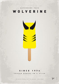 My SUPERHERO ICE POP - Wolverine von chungkong