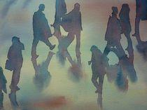 unterwegs  - on move von Thomas Habermann