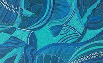 Blauer Rubin von schafferart